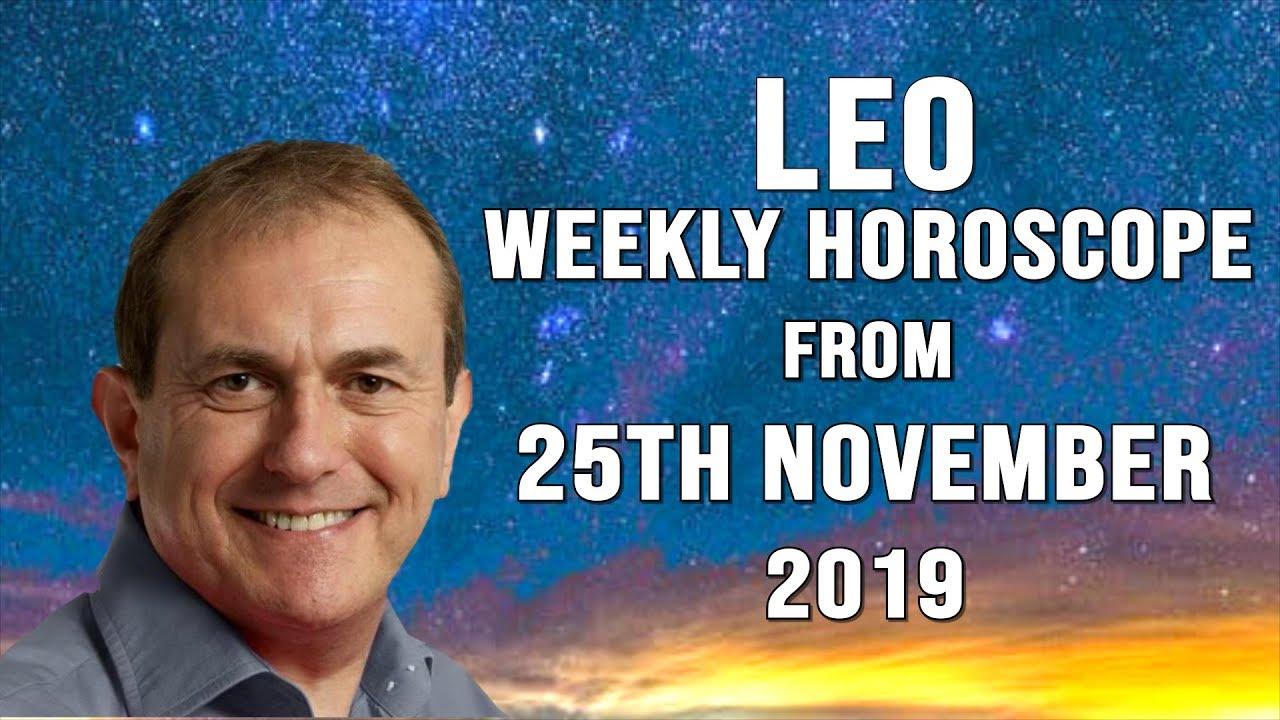 Weekly Horoscopes from 25th November 2019
