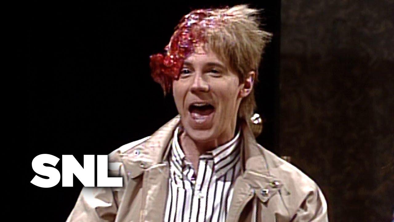 Massive Head Wound Harry Saturday Night Live Youtube