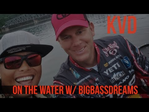 Fishing With Kevin VanDam On Table Rock Lake Part 2