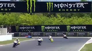 Tổng hợp những tai nạn thảm khốc trên đường đua MotoGP