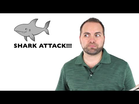 Beginner Flute Lesson 6 - New Note (Eb) & Shark Attack!