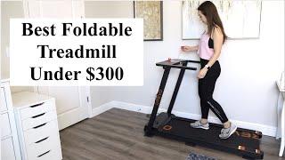 Best Foldable Treadmill Under $300   UREVO Treadmill Review + Peloton App Running Experience