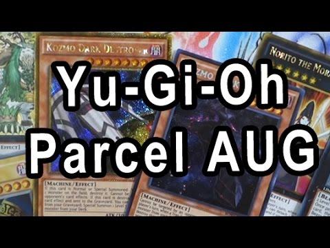 YGO Parcel 9x Pack + Bonus Pack Aug Opening