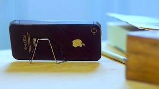 Простая подставка для телефона из скрепки | Лайфхакер