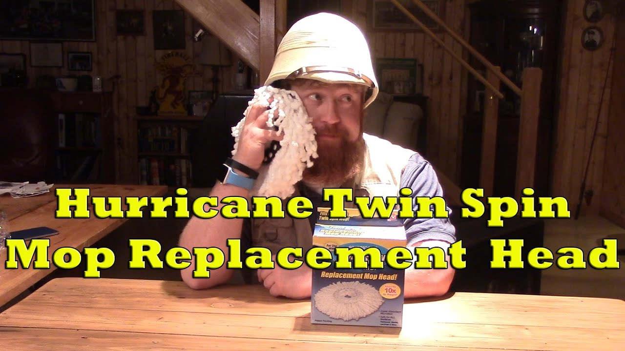Hurricane Twin Spin Mop Replacement Mop Head Review Youtube
