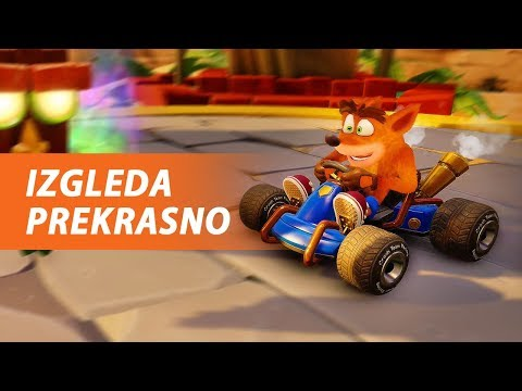 E OVU IGRU SAM ČEKAO! - Crash Team Racing Nitro-Fueled