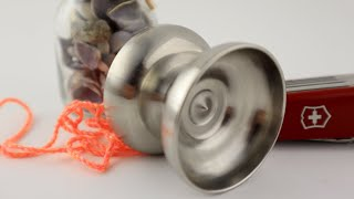 Anomaly YoYos Euphonious Unboxing And Review Stainless Steel YoYo