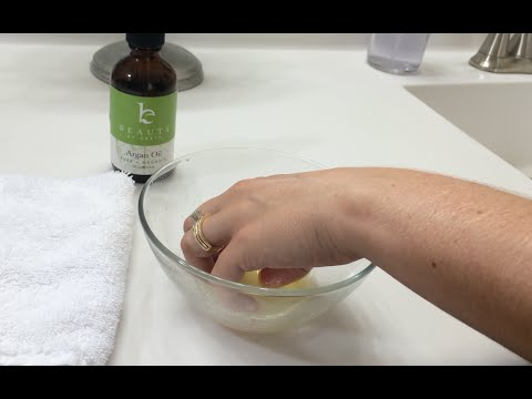 Argan Oil (Moroccan Oil) as a cuticle and nail treatment