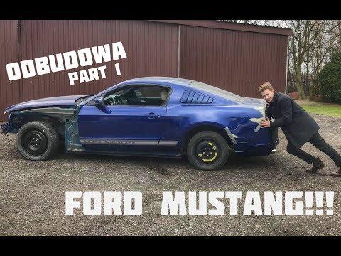Kupiliśmy rozbitego Forda Mustanga z USA - Okazja z domu aukcyjnego? #1