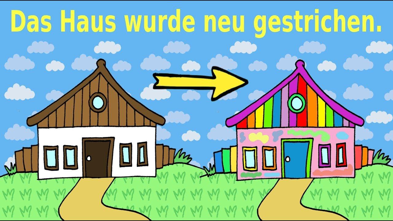 deutsch lernen aktiv und passiv german for children and beginners active passive youtube. Black Bedroom Furniture Sets. Home Design Ideas