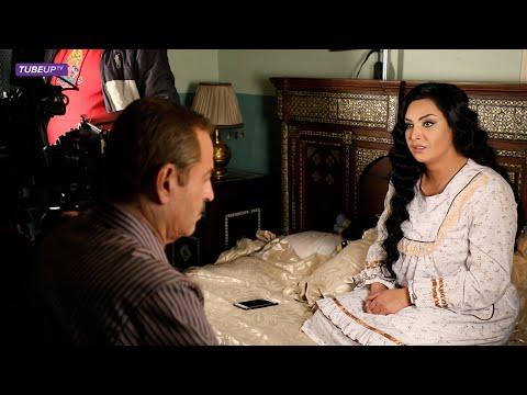 كواليس مسلسل سوق الحرير - قمر خلف بسام كوسا سلوم حداد مؤمن الملا كاريس بشار