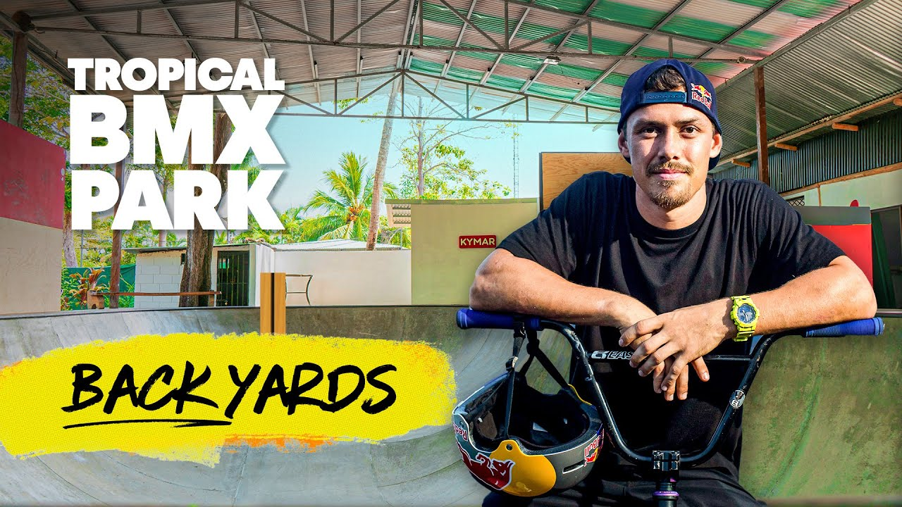 Building A Tropical Backyard BMX Park in Costa Rica
