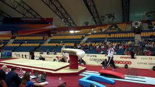 NAGORNYY Nikita (RUS) - 2018 Artistic Worlds, Doha (QAT) - Qualifications Vault 2