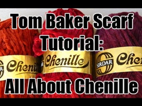 Doctor Who Tom Baker Scarf Tutorial All About Chenille Youtube
