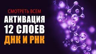 Смотреть ВСЕМ!!! СУПЕР Фильм!!! Активация 12 Слоёв Алмазного ДНК и РНК | Исцеляющие Медитации