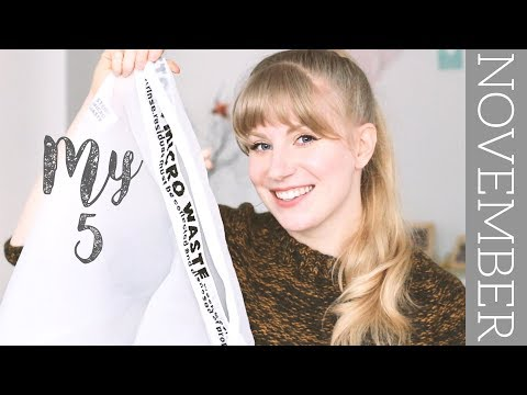 November 'My 5' | eco friendly favorites