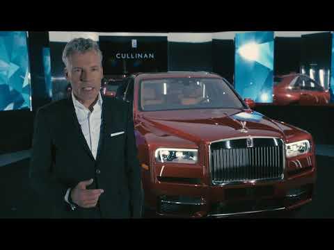 Rolls Royce Cullinan - Footage