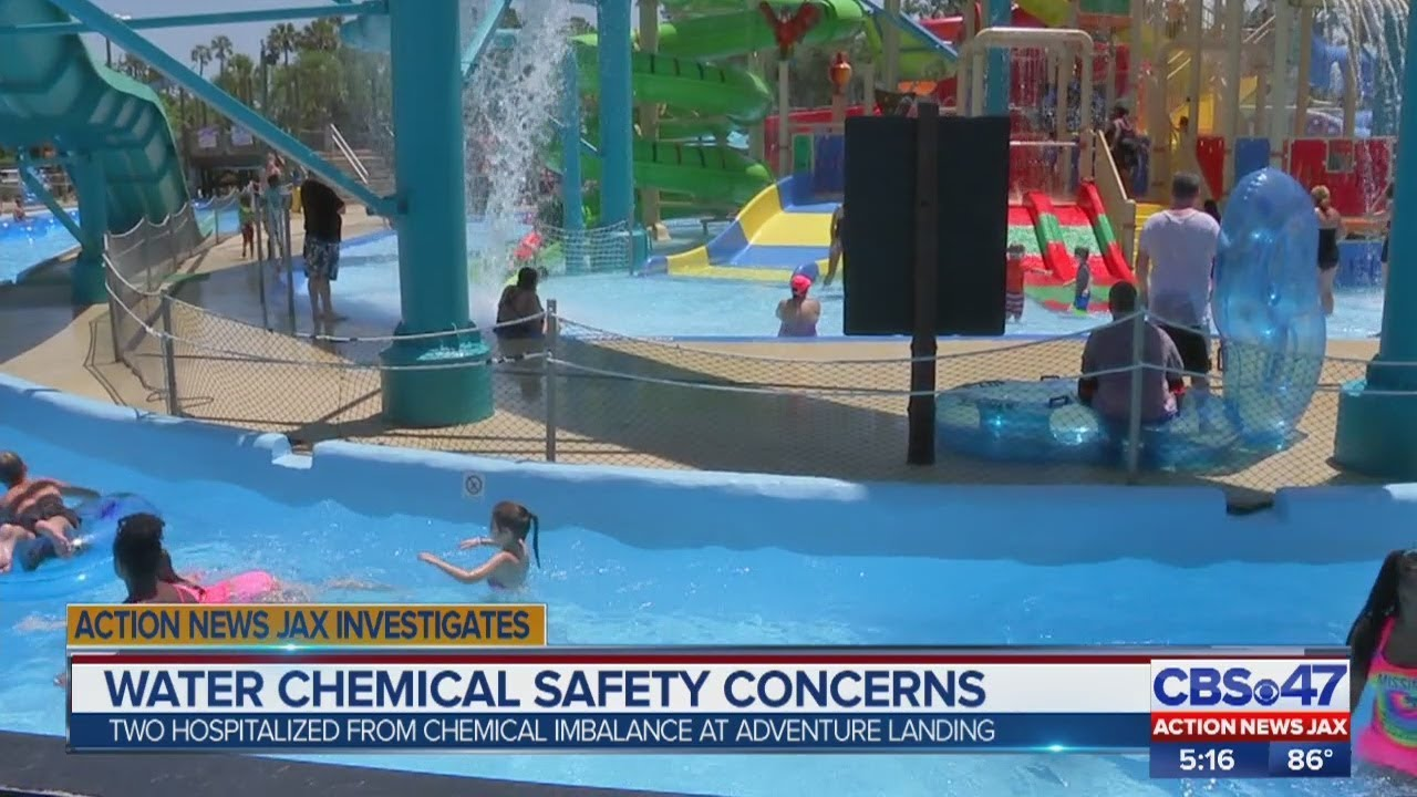 Chemical imbalance at Adventure Landing sends 2 to hospital