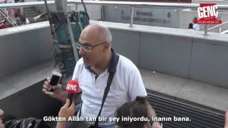 Yabancı Turist: Kalbimdekilere İnanın, Allah Türkiye'yi Koruyor - Genç Mikrofon