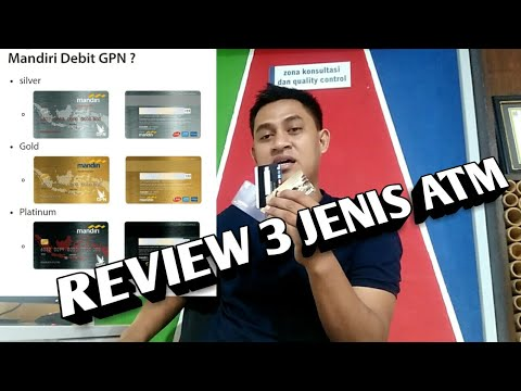 REVIEW 3 KARTU ATM BANK MANDIRI...