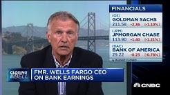 Former Wells Fargo CEO: We'll see positive, not rubust bank earnings