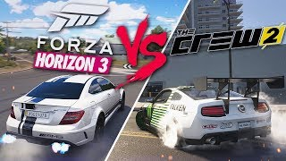 FORZA HORIZON 3 vs THE CREW 2 - ЧТО ЛУЧШЕ?!