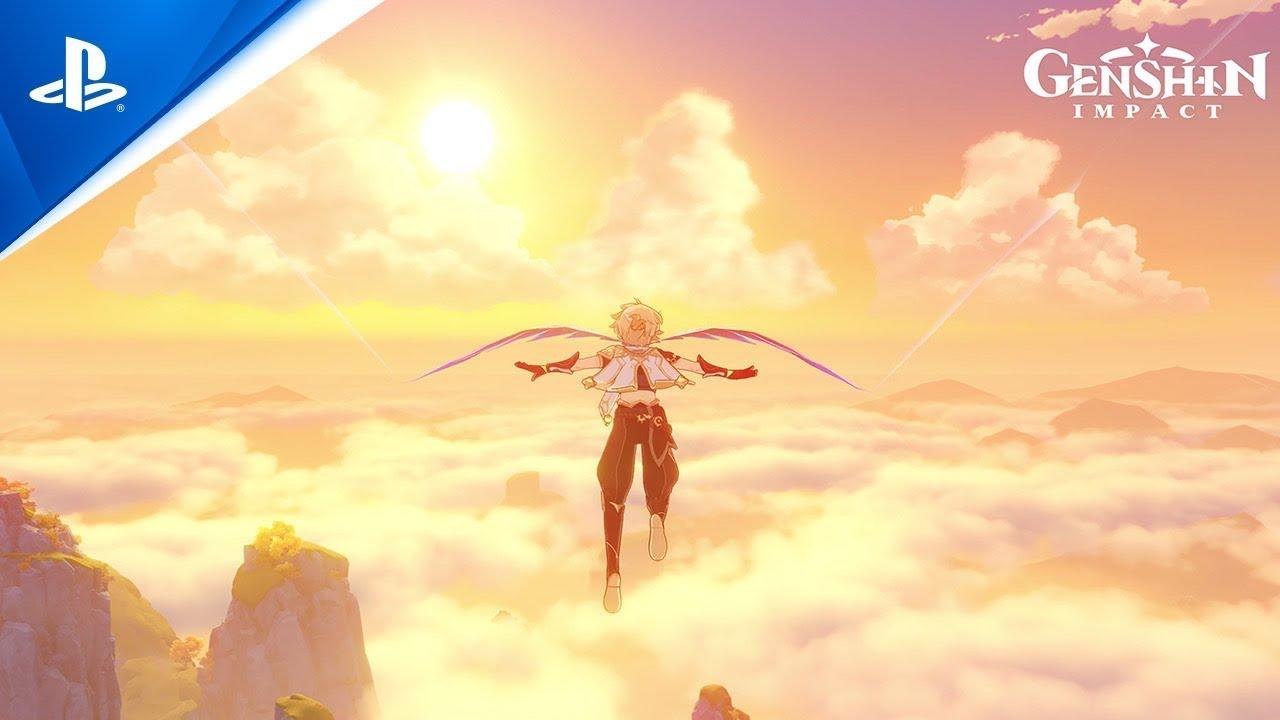Genshin Impact - Gameplay Footage   PS5