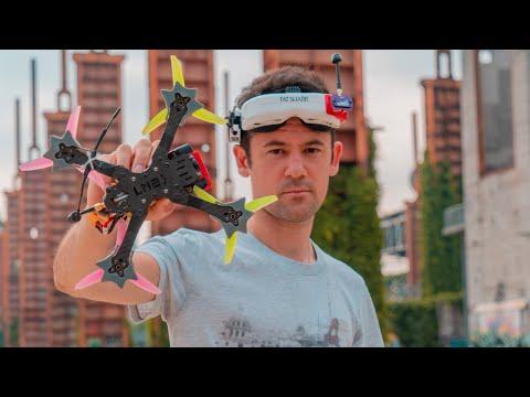 """Фото IL MIO NUOVO DRONE FPV INDISTRUTTIBILE   LM2 V2 5"""" BANDO SPECIAL"""