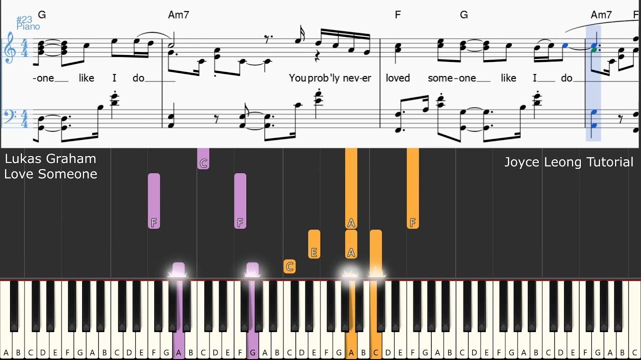Love someone lukas graham piano sheet music pdf