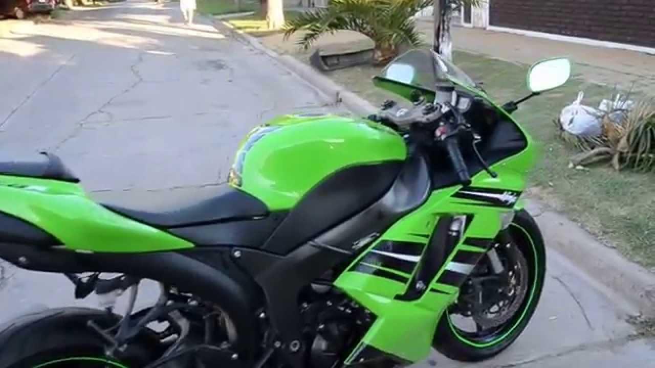 2008 Kawasaki Ninja ZX6R - YouTube