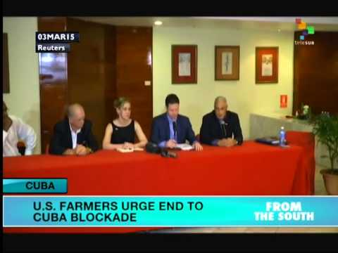 US farmers call for end to Cuba blockade