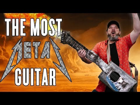 How to Make Everything Collab - THE MOST METAL GUITAR EVER