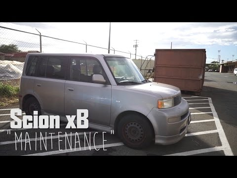 Scion XB Maintenance: Hatch Latch