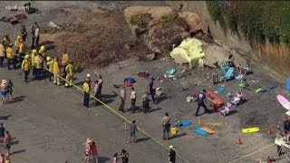 Mother and daughter killed after Leucadia sea-bluff collapse identified