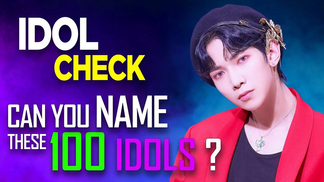[KPOP GAME] CAN YOU NAME THESE 100 IDOLS ?/ IDOL CHECK #02