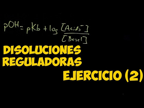 QUÍMICA Disoluciones Reguladoras (NH3/NH4+)  Ejercicio  (2) BACHILLERATO AULAEXPRESS VÍDEO TUTORIAL