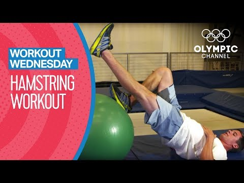 Hamstring Workout ft. Mac Bohonnon | Workout Wednesday