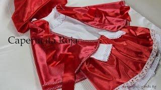 Disfraz de Caperucita Roja muy fácil