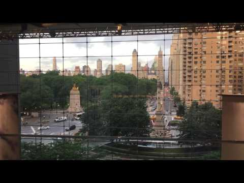 Center bar view at Time Warner center NYC