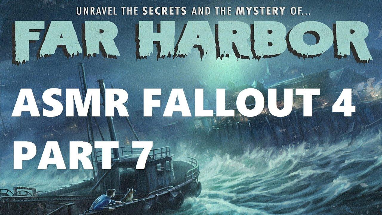 Asmr Fallout 4 Far Harbor Dlc Part 7 Youtube