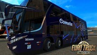 Euro Truck Simulator 2 Mod Bus | Cometa - BH/Rio de Janeiro - Logitech G27
