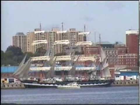 Tall Ship 2000  Tall Ships Parade(Halifax)