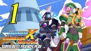 Best Friends Play Megaman X: Command Mission (Part 1)