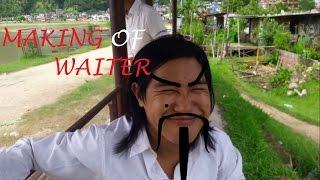making of I am waiter/dancer / kristal klaws