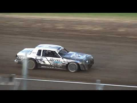 IMCA Stock Car Heat 2 Independence Motor Speedway 8/24/19