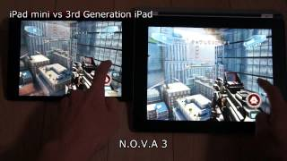 iPad mini vs 3rd Generation iPad - Game