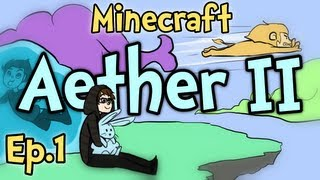 "Minecraft - Aether II Ep.1 "" A New Adventure "" w/ Chim & Clash"