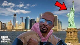 GTA 5 REAL LIFE MOD #301 TRIP TO NEW YORK! (LIBERTY CITY)