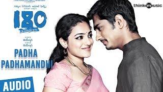 180 Songs Telugu | Padha Padhamandh Song | Siddharth, Priya Anand, Nithya Menen | Sharreth