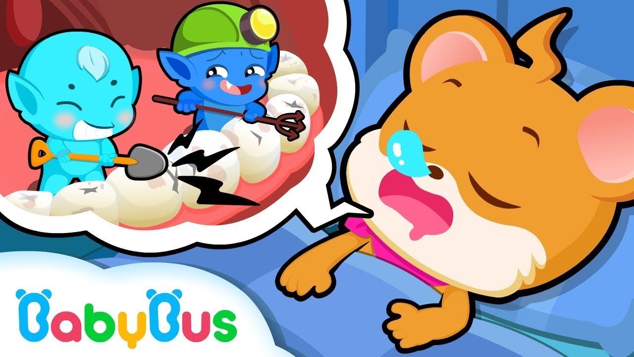 Whiskers Doesn't Like Brushing Teeth | Good Habits | BabyBus Cartoon